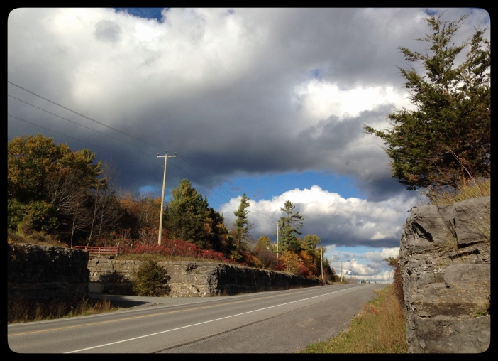 Ontario County Road, Fall 2015, by Ontheland