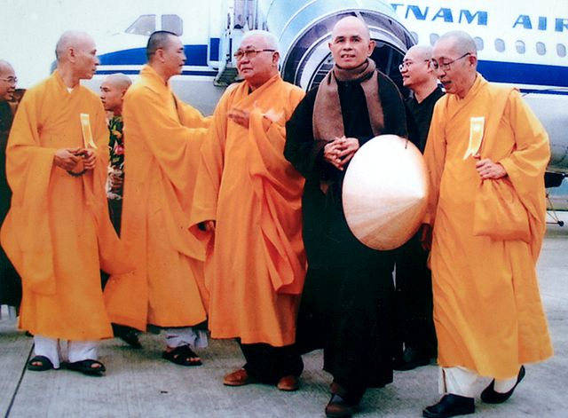 Thich Nhat Hanh 2007, Photo by Luu Ly, Licensed under Public Domain