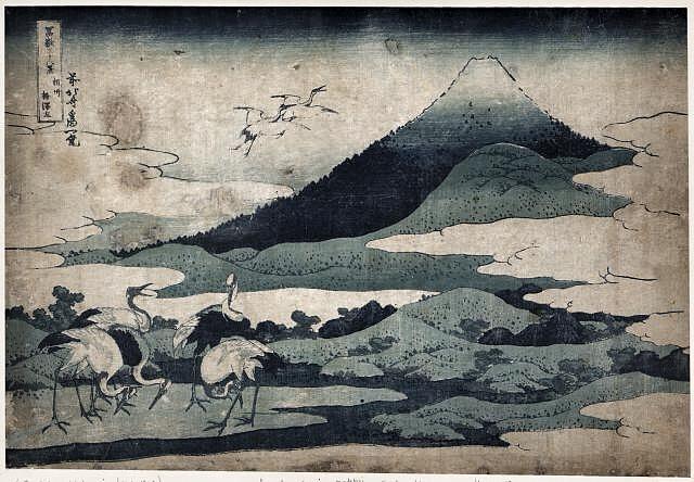 Umezawa Manor in Soshu by Katsushika, Hokusai, 1833