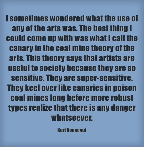 I-sometimes-wondered kurt vonnegut